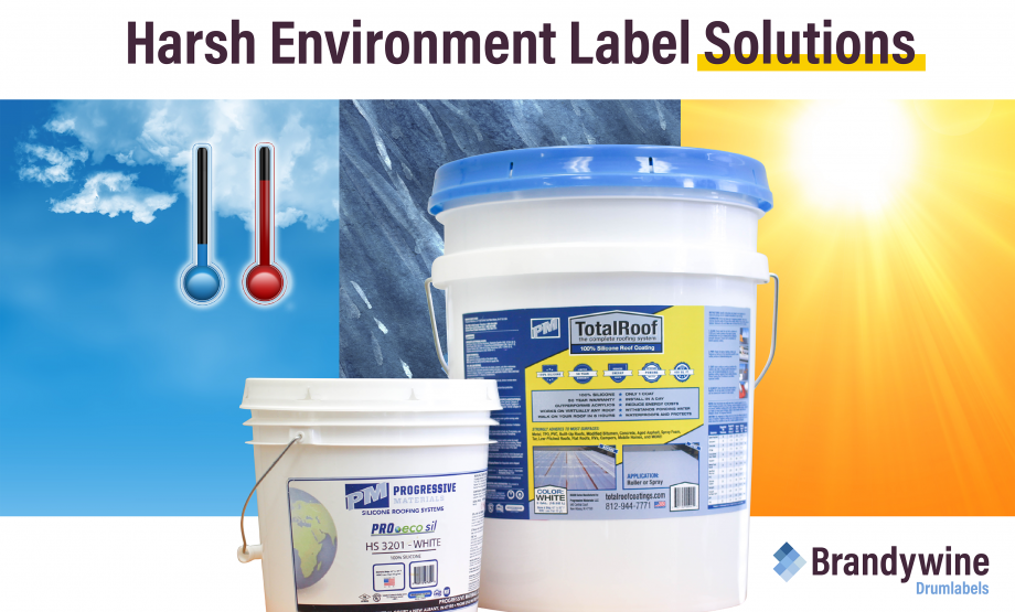 Lasting Label Solutions for Drums, Totes and Pails