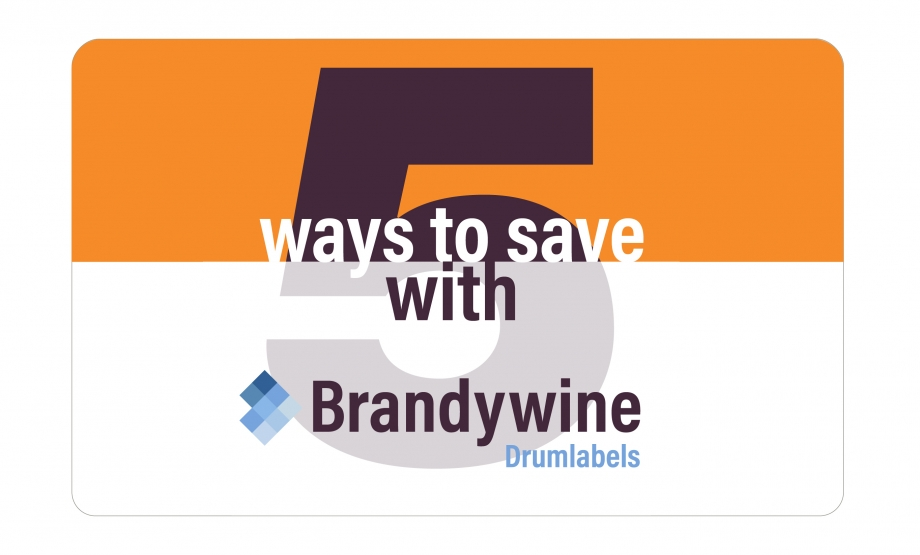 5 ways BrandywineDrumlabels can help your business operate smoothly while saving you money