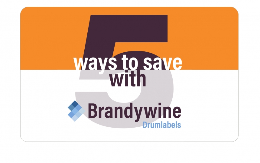 5 ways Brandywine Drumlabels can help your business operate smoothly while saving you money